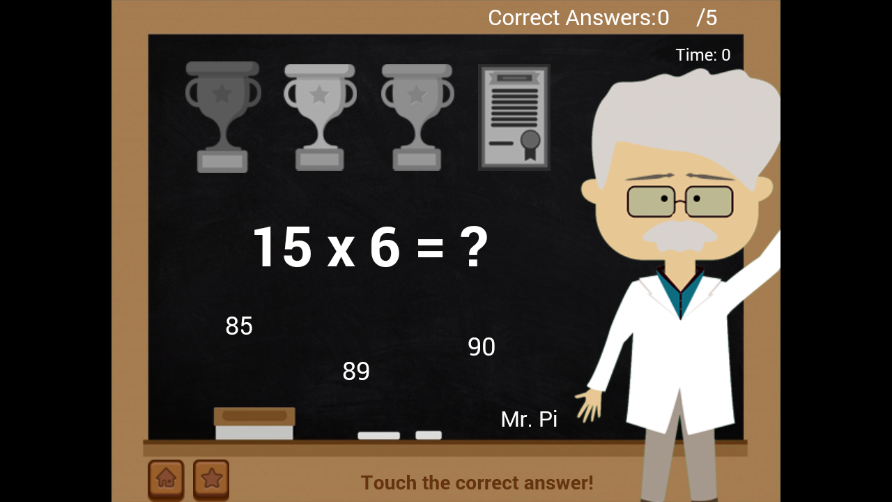 Amazon.com: Mr. Pi\' Math Countdown: Appstore for Android