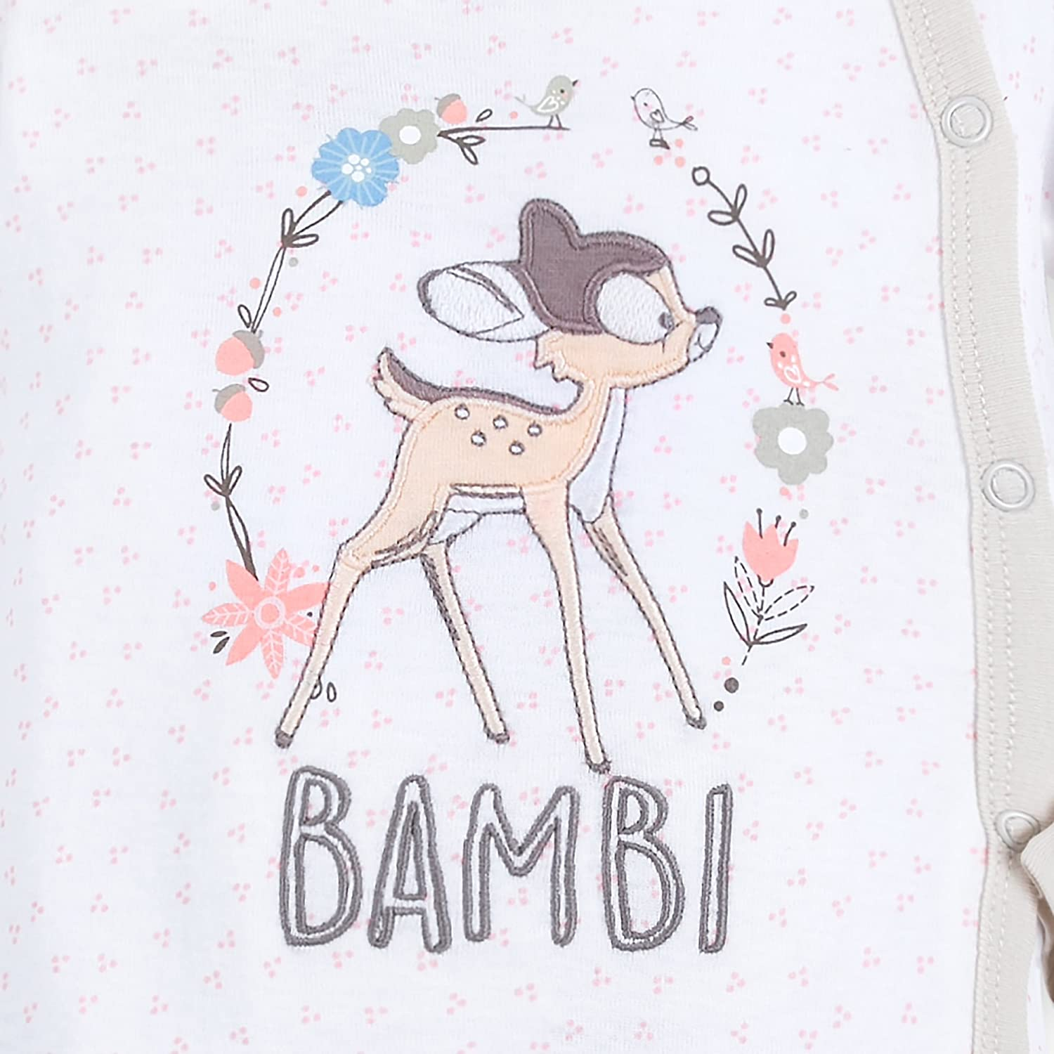 Disney Bambi Footed Stretchie Sleeper for Baby Size 12-18 MO Multi