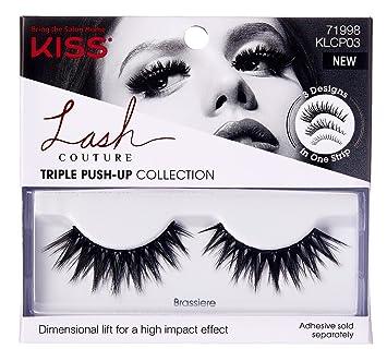 19b39c055dc Amazon.com: Kiss Lash Couture Triple Push-Up Brassiere (6 Pack): Beauty