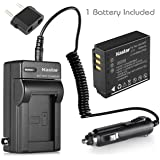 Kastar Battery (1-Pack) and Charger Kit for Panasonic Lumix CGA-S007 CGA-S007A CGA-S007A/1B CGA-S007E DMW-BCD10 DE-A25 DE-A26 & Lumix DMC-TZ1 DMC-TZ2 DMC-TZ3 DMC-TZ4 DMC-TZ5 DMC-TZ11 DMC-TZ15 DMC-TZ50