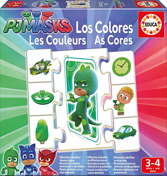 PJ Masks Dibujos Animados y cómic Aprendo los Colores, 3-4 años ...