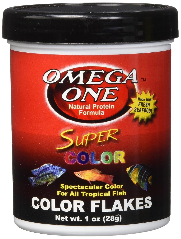 Amazon.com : Omega One Super Color Flakes, 1 oz. : Pet Food : Pet ...
