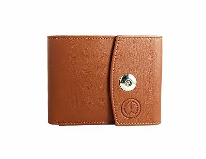 TnW Designer Men's Tan Wallet