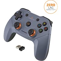 Amkette Evo Elite Wireless Gamepad for PC/Laptop/PS3 (Not compatible with Mobile phones) (color- Black)