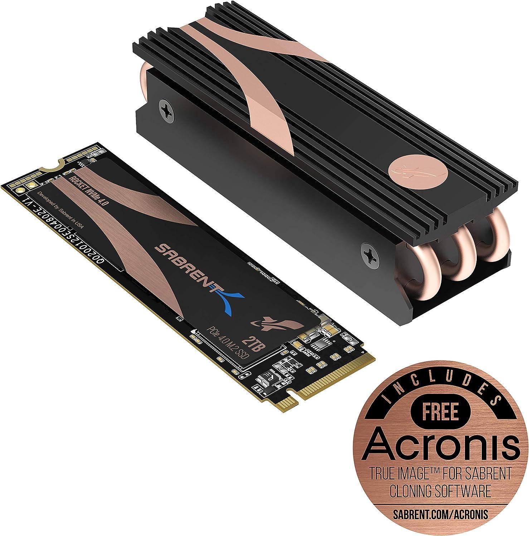 Sabrent 2TB Rocket Nvme PCIe 4.0 M.2 2280 Unidad de Estado sólido ...