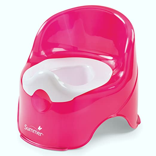 Summer Infant Lil Loo Potty, Raspberry and White