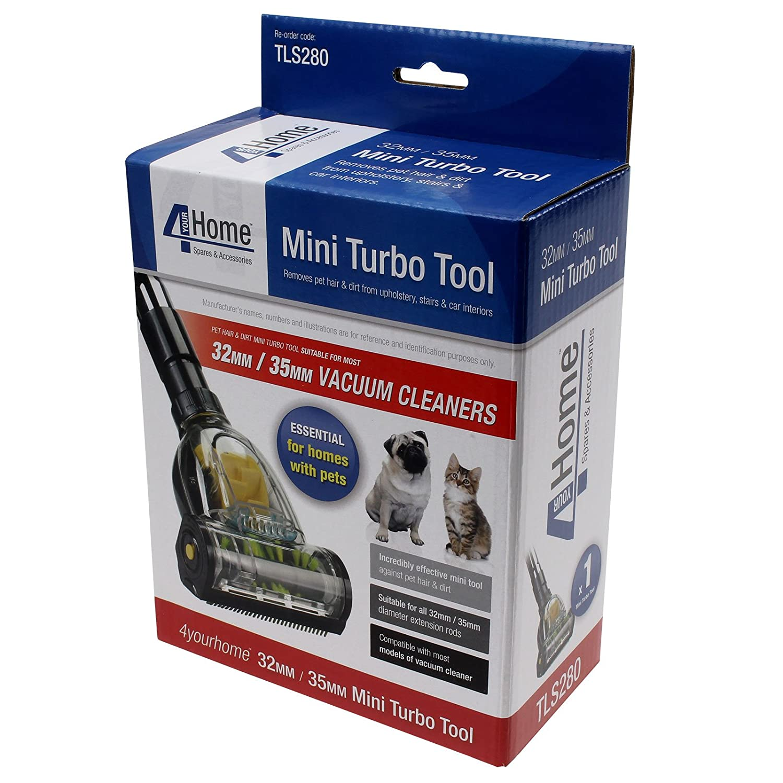 Vacspare 32 mm) herramienta de pelo de las mascotas Mini Turbo piso cepillo para aspiradoras de tiburón: Amazon.es: Hogar