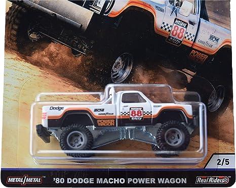 Hot Wheels 2019 Rally Deserto Cultura Carro caso K/'80 Dodge Power Wagon Macho