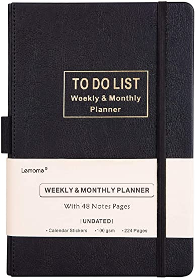 "2020-2021 Planner - Academic Monthly & Weekly Planner with to do List & Pen Loop, 5 Weeks a Month, 60 Weeks - Premium Thick Paper, 5.75"" x 8.25"""