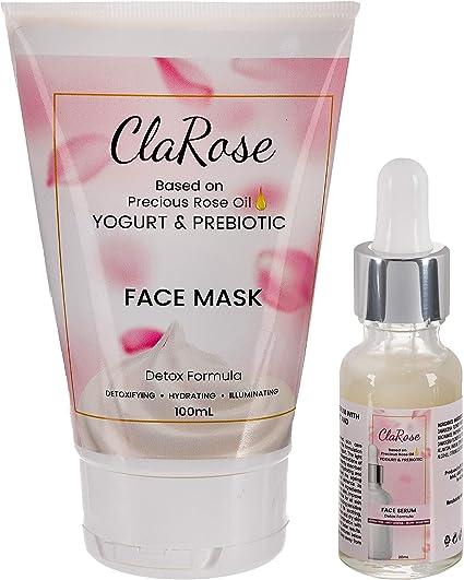 Kit facial purificador ClaRose - Sérum facial antienvejecimiento ...