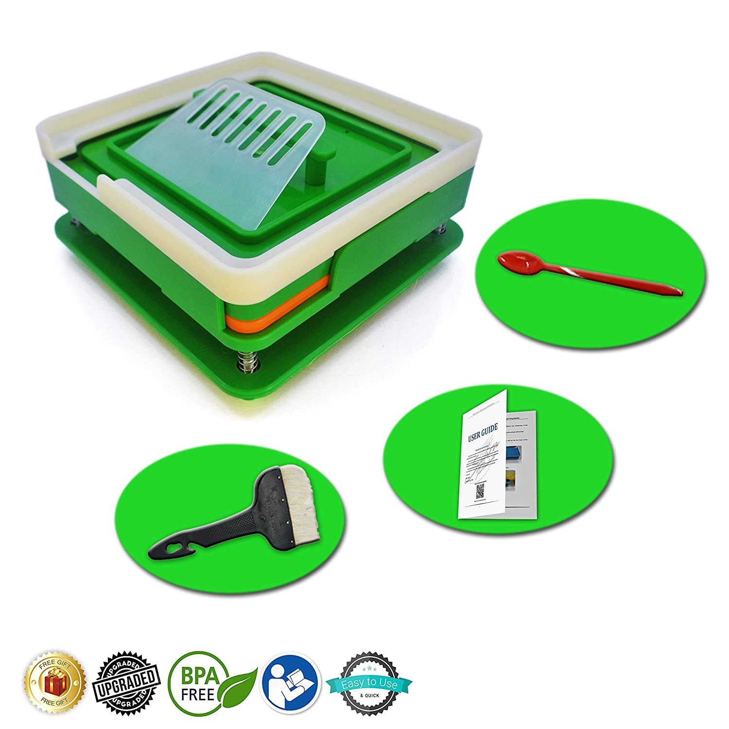 Amazon.com: Capsule Filling Machine   #00 Size 100 Holes   FREE LAB SPOON    FREE CLEANING BRUSH   With Detailed Use Instructions   Holding Tray    Capsule ...