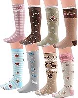 Deer Mum Girl's Cute Princess Knee High Socks