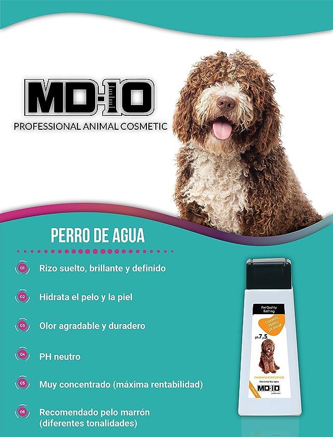 Pelo Marr/ón 2L Champ/ú Perro de Agua