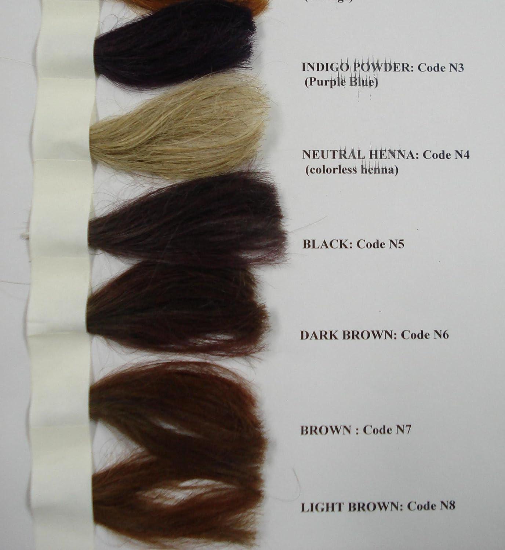 Amazon Com Dark Brown Herbal Henna Hair Color 1 Lb W Amla