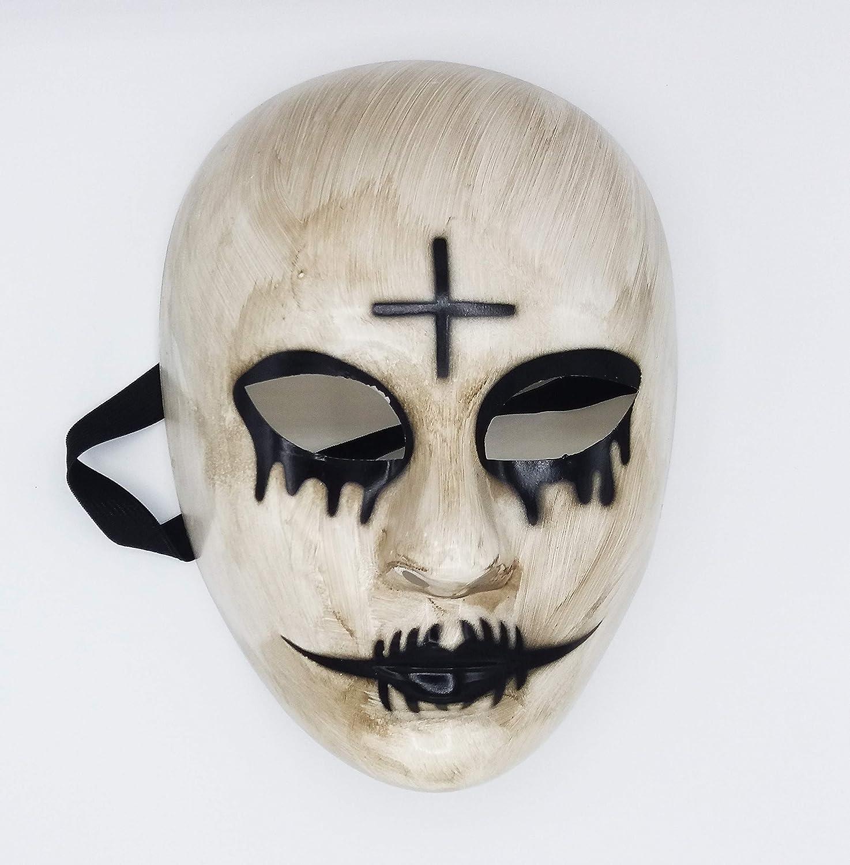 Máscara de la Purga Cruz para Disfraz de Halloween Terrorífico ...