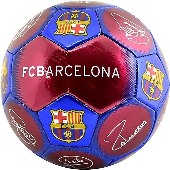 Balón de fútbol oficial firmado con el escudo del FC Barcelona ...