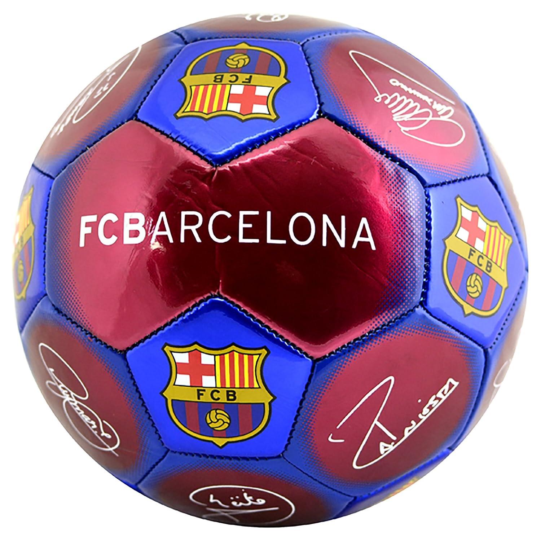 e760c452cf3 Amazon.com : Barcelona Signature Football - Size 5 : Sports & Outdoors