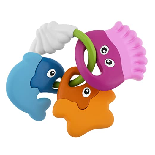 57 opinioni per Chicco Baby Senses- Sea Creatures Teether- rattles (Multicolour, Any gender)