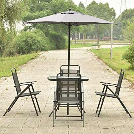 Amazon.com: 9rit_shop - Juego de muebles de exterior (6 ...