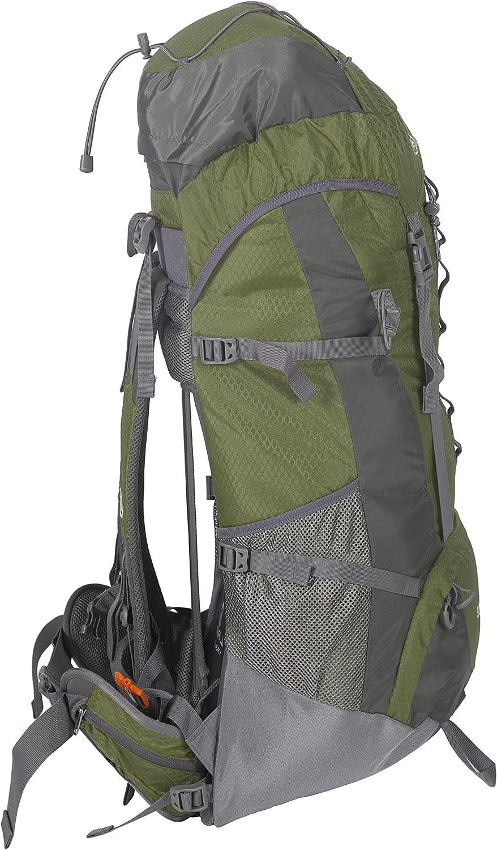 Hiking and Travel Stansport 70+10-Liter Internal Frame Backpack for Backpacking