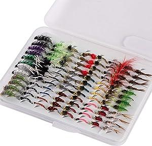 Bassdash Fly Fishing Nymph Box