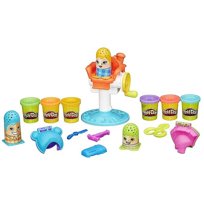 Play-Doh Play-Doh-5010994861766 PDH Core Kit Peinados Locos, (Hasbro B1155EU4)