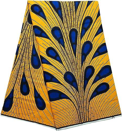 Amazon Com African Ankara Fabric African Wax Print Fabric For