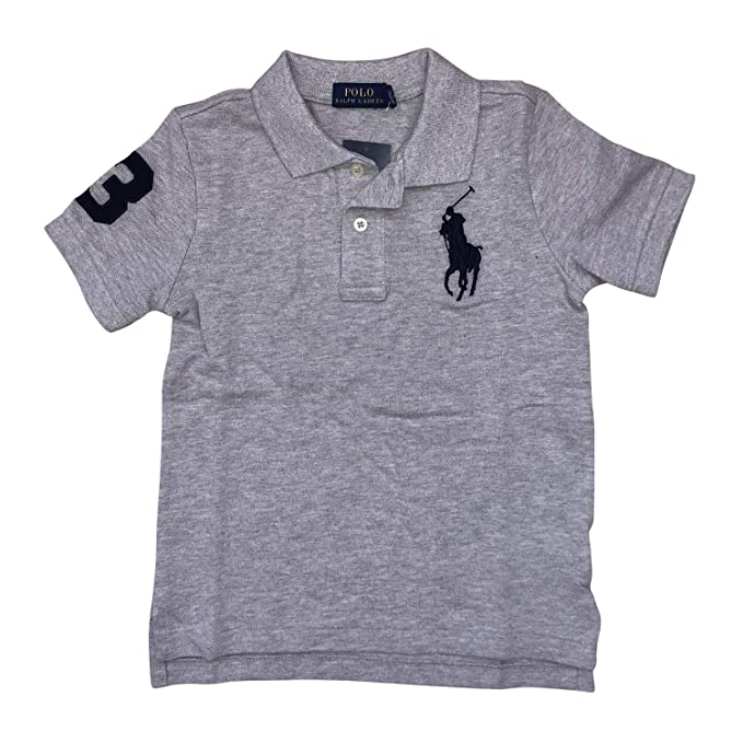 Polo Ralph Lauren Big Pony   Number Polo T-Shirts Boys(2T-7 d46aafc86075e