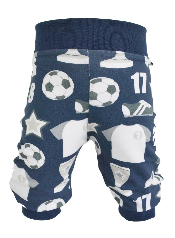 NEJA Design Pumphose,Babyhose,Kinderhose Fußball dunkelblau (50/56) 3707