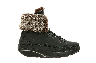 authentische Qualität gesamte Sammlung großer Rabatt MBT Stiefel Malaika W Black Nubuck: Amazon.de: Schuhe ...