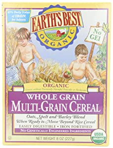 Best Organic Baby Cereals Reviews 2019 – Top 5 Picks & Buyer's Guide 6
