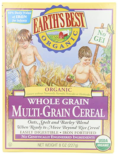 Earth's Best Organic, Whole Grain Multi-Grain Cereal Review
