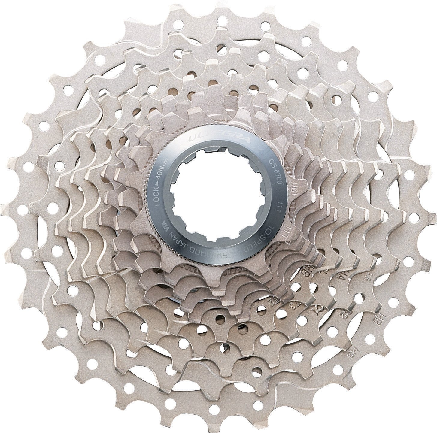 SHIMANO CS-6700 Ultegra Bicycle Cassette (10-Speed, 11/28T) by SHIMANO
