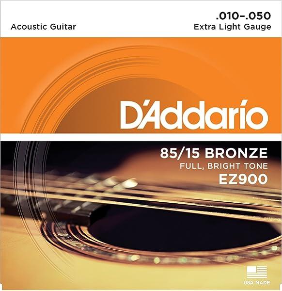 DAddario EJ10 Juego de Cuerdas, Naranja: Amazon.es: Instrumentos ...