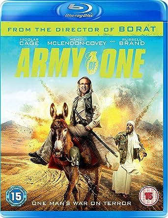 Army Of One [Blu-ray]: Amazon co uk: Nicolas Cage, Wendi