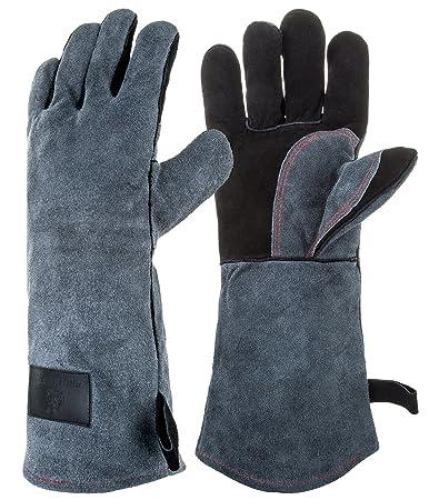 Amazon.com : OUO Heat Resistant Gloves, Outdoor Cut Resistant ...