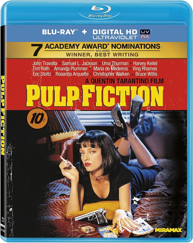 Pulp Fiction 1994 Us Import Blu Ray Region A Amazon Co Uk Dvd Blu Ray