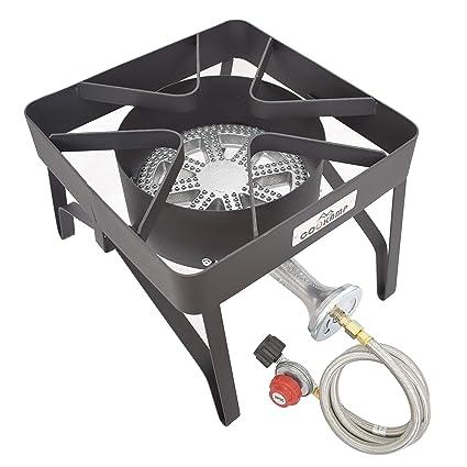 Amazon.com: cookamp alta presión Banjo 1-burner al aire ...