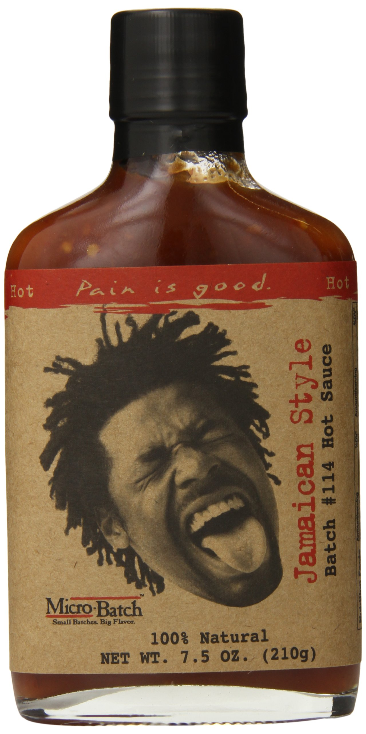 Pain Is Good Jamaican Style Hot Sauce, 7.5 Ounce