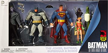 Dark Knight Returns 30th Anniversary Superman and Batman Action ...