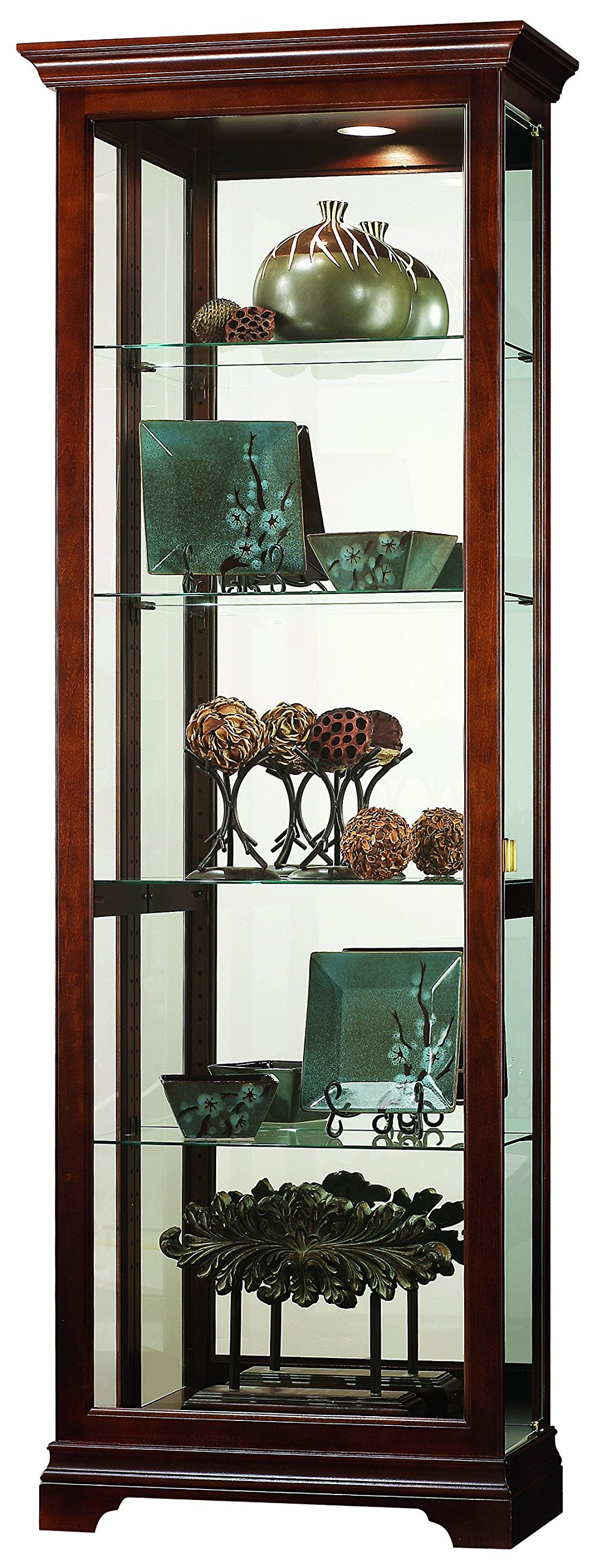 Howard Miller 680521 Elise Display Cabinet