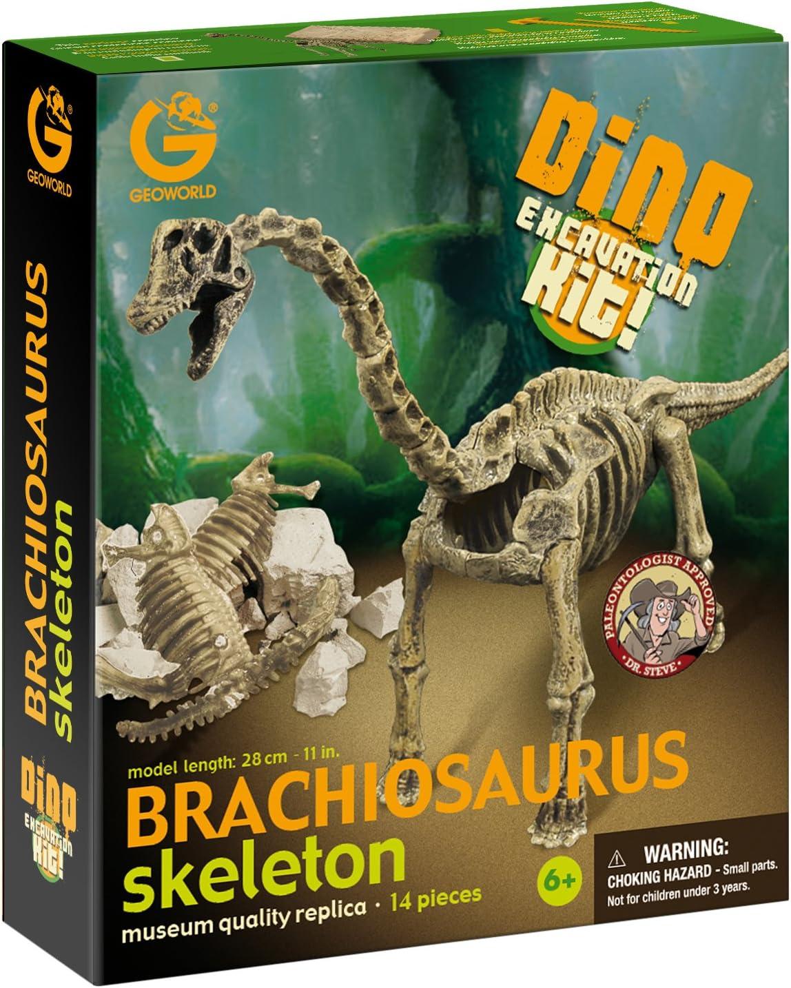 Geoworld Brachiosaures Cl1665k Dino Excavation Kit