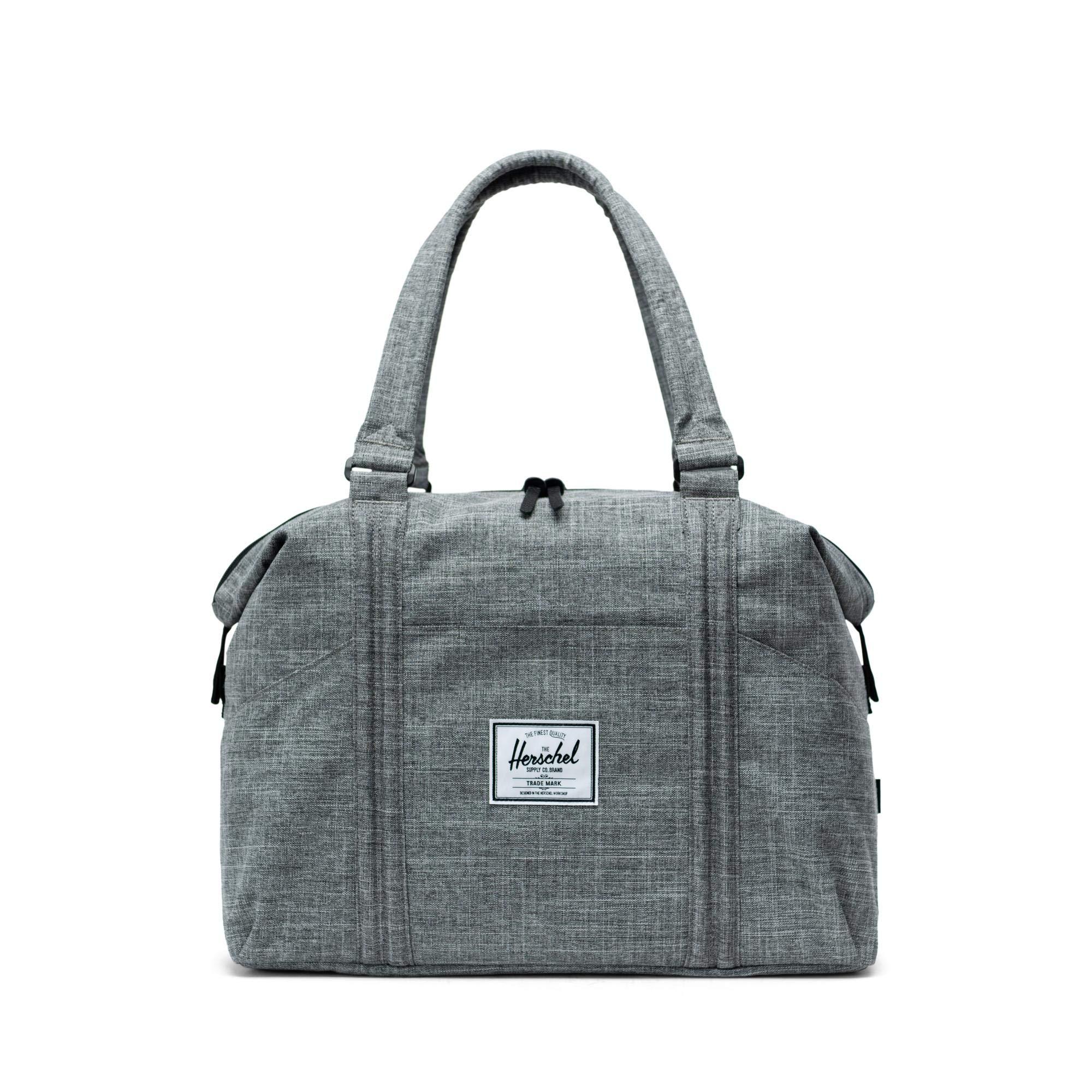 Herschel Strand Duffle Bag-Raven Crosshatch