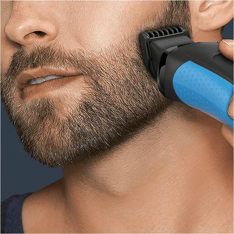 Braun Series 3 - Pack con cabezal de recortadora de barba y 5 peines BT32, compatible con afeitadora eléctrica Series 3, color negro: Amazon.es: Salud y cuidado personal