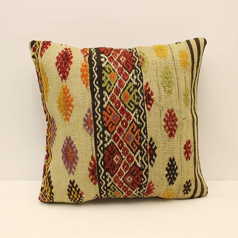 vintage pillow turkish rug rug pillow 20x20 inc 50x50 cm antique pillow kilim rug kilim pillow handmade pillow turkish kilim