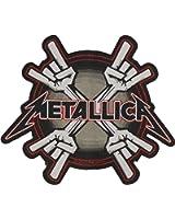 Metallica Metal Horns Patch