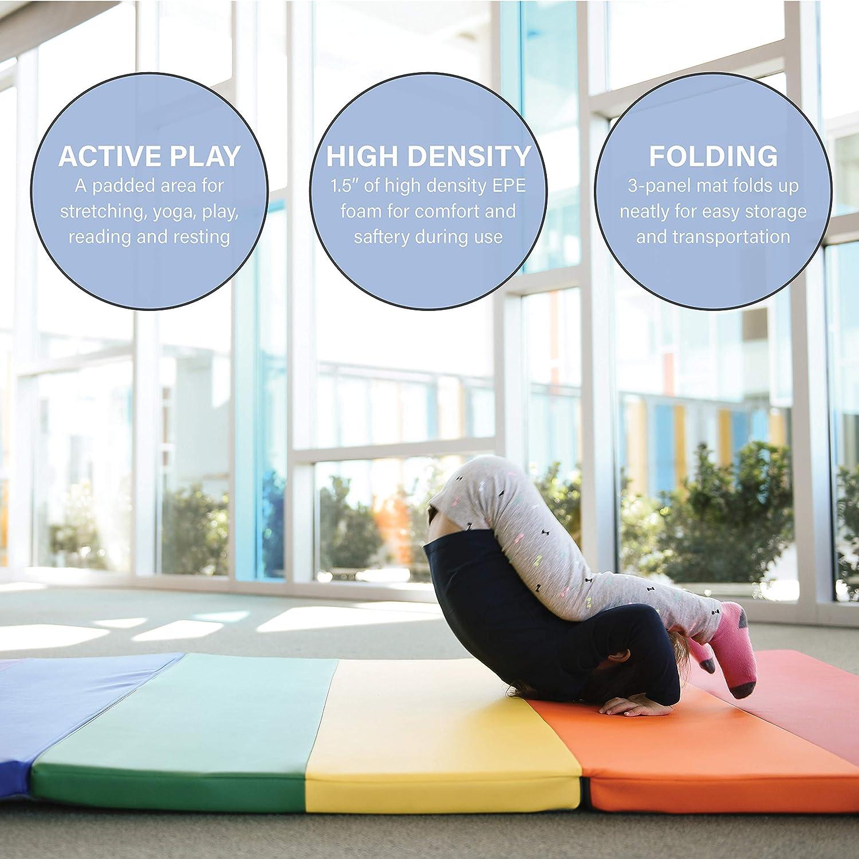 Amazon.com: SoftScape Rainbow - Esterilla de ejercicio ...