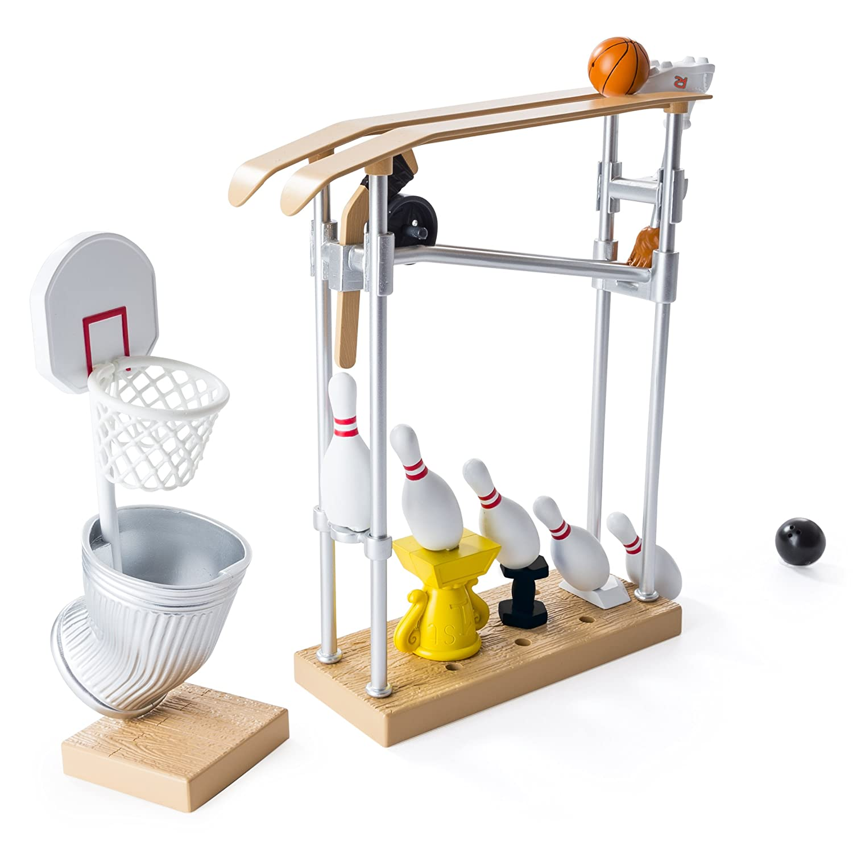 Amazon Rube Goldberg the Trick Shot Challenge Kids Physics