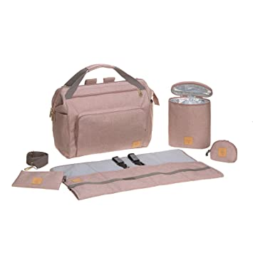 Amazon.com: Lassig Goldie Twin Mochila, Rosa: Baby