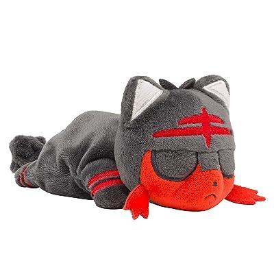 Pokemon Center Original Plush Doll Kuttari Litten (Nyabby) Sleeping Ver. 929: Toys & Games